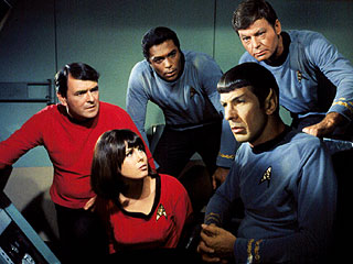 Spock and crew