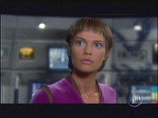 T'Pol stunned and bugeyed